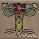 Art deco ceramic tile design 5058
